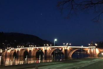 Die Alte Brücke. Bild: A. Köster, ZC Heidelberg